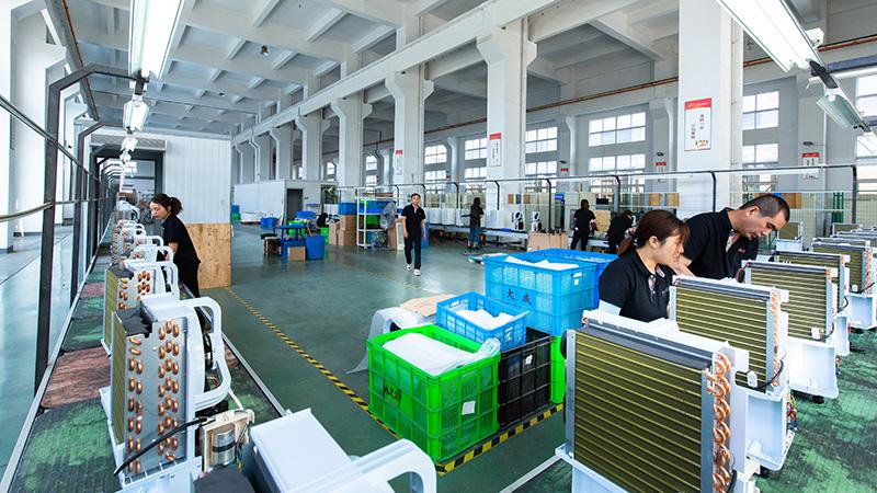 川岛电器车间环境