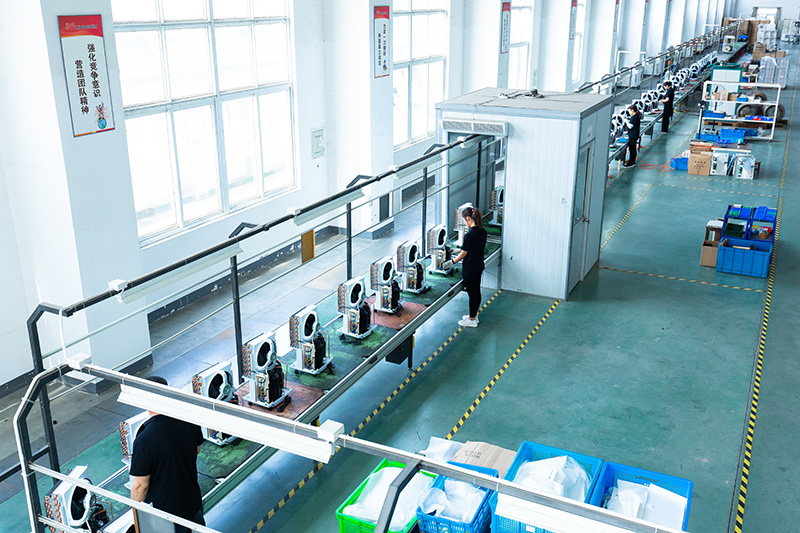川岛电器除湿机装配车间